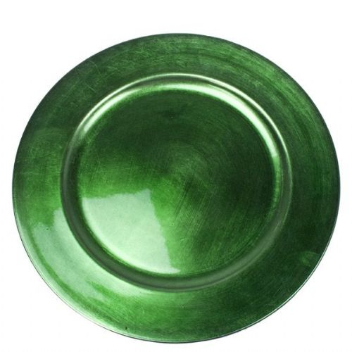 Beautiful Charger Plate / Underplates 33cm - DARK GREEN